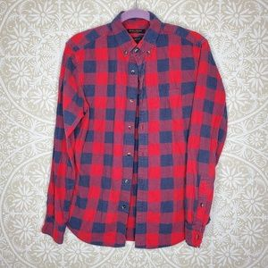 Banana Republic Luxe Flannel Grant Fit Shirt M